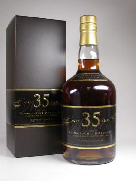 """Glenallachie 35 Jahre """"The Single Malts of Scotland"""" 46,9%vol. 0,7l"""