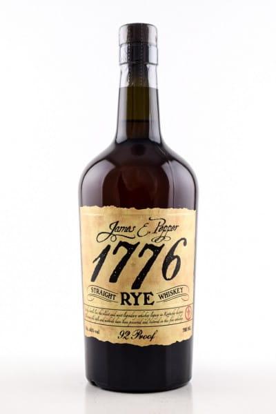 1776 Straight Rye James E. Pepper 46%vol. 0,7l