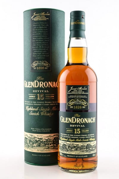 Glendronach Revival 15 Jahre 46%vol. 0,7l