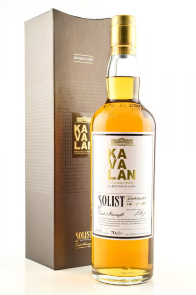 Kavalan Solist Single Bourbon Cask 58,6%vol. 0,7l