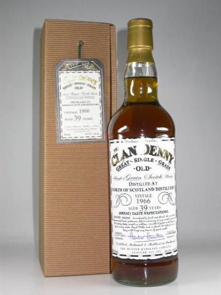 North of Scotland Distillery 39 Jahre 1966 Clan Denny 44,4%vol. 0,7l