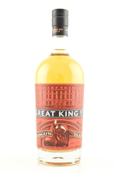 Great King Street - Glasgow Blend Compass Box 43%vol. 0,7l