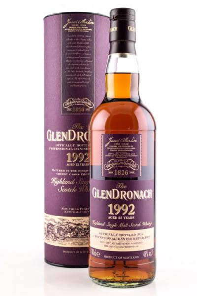 Glendronach 25 Jahre 1992 48%vol. 0,7l