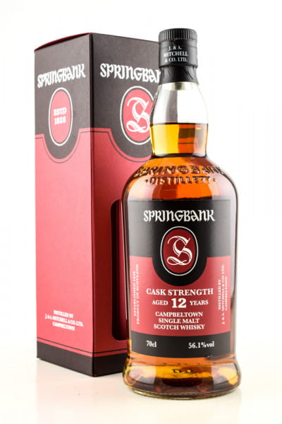 Springbank 12 Jahre Cask Strength 55,4%vol. 0,7l