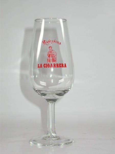 La Cigarrera Manzanilla Nosing-Glas