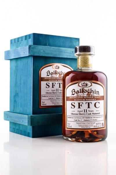 Ballechin 11 Jahre 2007/2018 SFTC Oloroso Sherry Cask Matured #17 60,4%vol. 0,5l