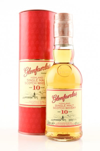 Glenfarclas 10 Jahre 40%vol. 0,2l