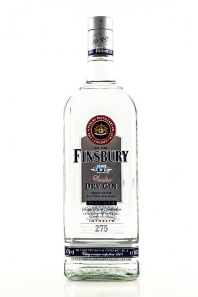 Finsbury 47 Platinum London Dry Gin 47%vol. 1,0l