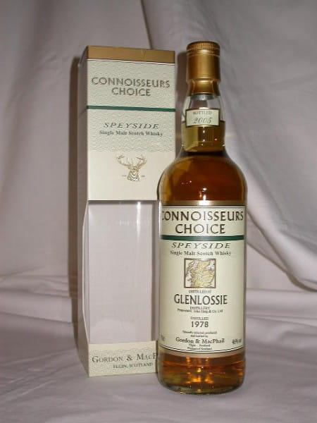 Glenlossie 1978/2005 Gordon & MacPhail Connoisseurs Ch. 46%vol. 0,7l