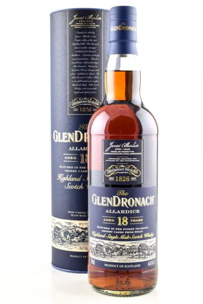 Glendronach 18 Jahre Allardice (Oloroso Cask) 46%vol. 0,7l