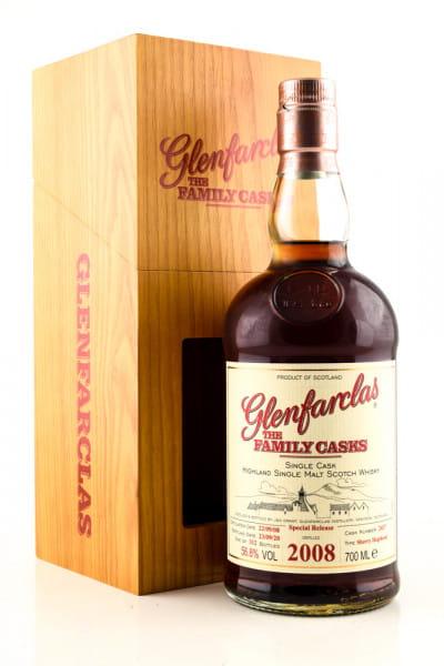 Glenfarclas 2008/2020 The Family Casks 1st-fill Sherry Hogshead #2437 56,8%vol. 0,7l