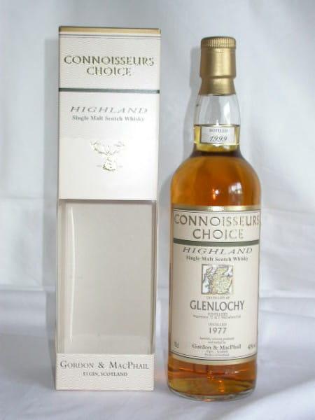 Glenlochy 77/99 Gordon & MacPhail Connoisseurs Ch. 40%vol. 0,7l