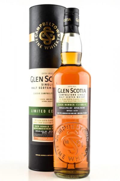 Glen Scotia 2007/2019 Bordeaux Red Wine #17/106-4 56,9%vol. 0,7l