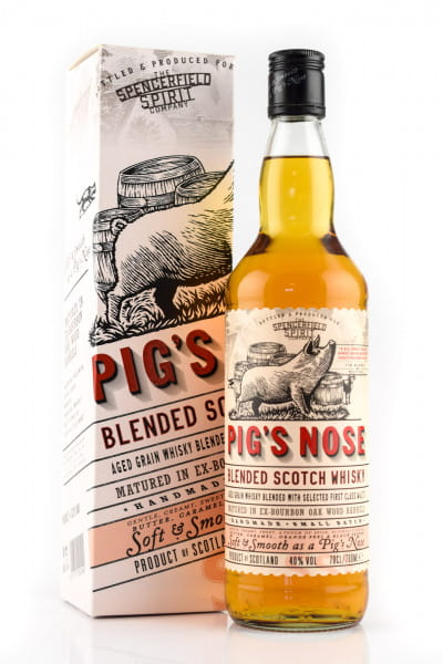 Pig's Nose Blended Scotch Whisky 40%vol. 0,7l