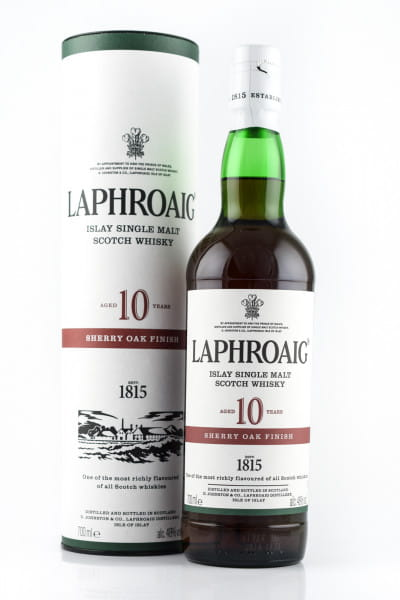 Laphroaig 10 Jahre Sherry Oak Finish 48%vol. 0,7l