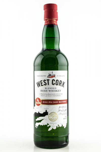 West Cork Irish IPA Cask Matured 40%vol. 0,7l