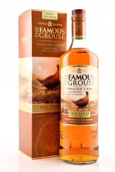 The Famous Grouse Toasted Oak 40%vol. 1,0l