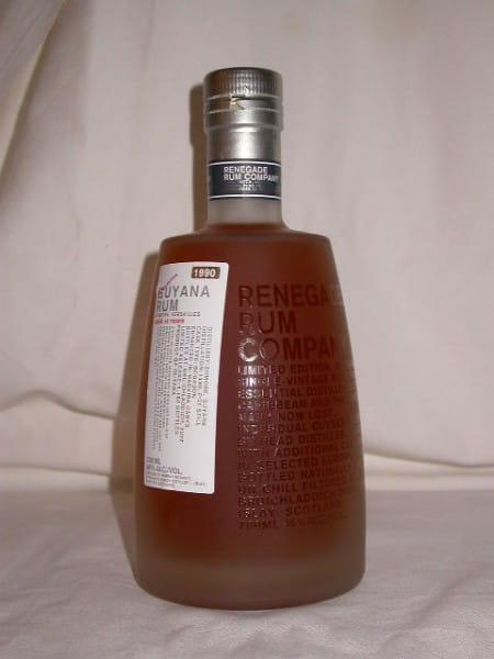 Guyana Rum Enmore-Versailles 1990/2007 Murray McDavid 46%vol. 0,7l