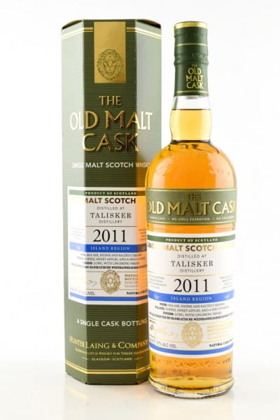 "Talisker 6 Jahre 2011/2018 Hunter Laing ""Old Malt Cask"" 57%vol. 0,7l"