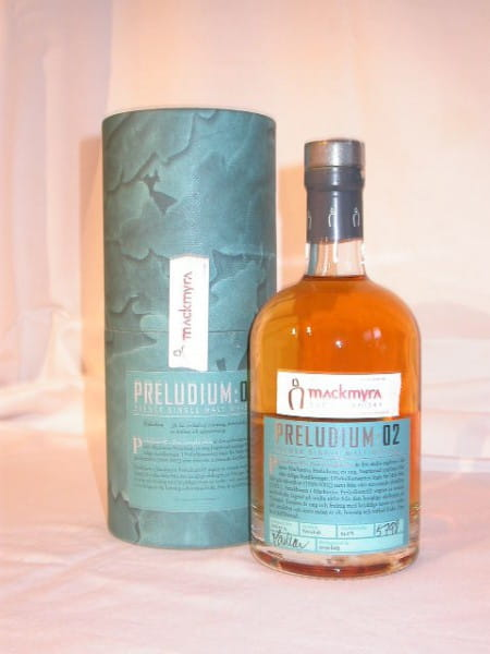 Mackmyra Preludium:02 Svensk Single Malt Whisky 54,2%vol. 0,5l