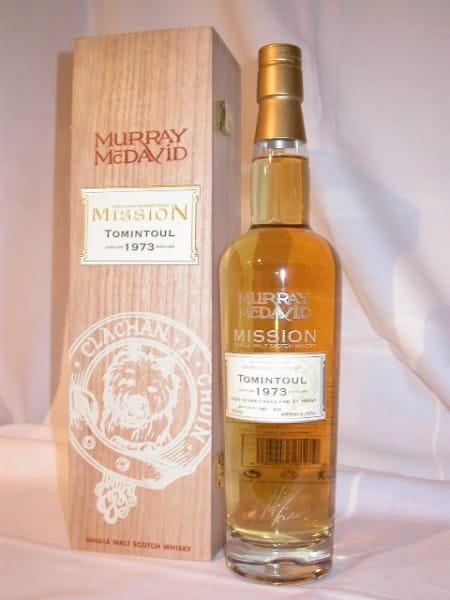 Tomintoul 1973/2004 Murray McDavid Mission IV 46%vol. 0,7l