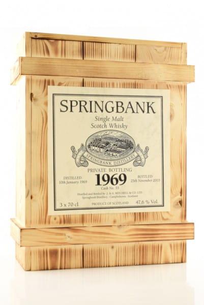 Springbank Private Bottling 1969 Holzkiste