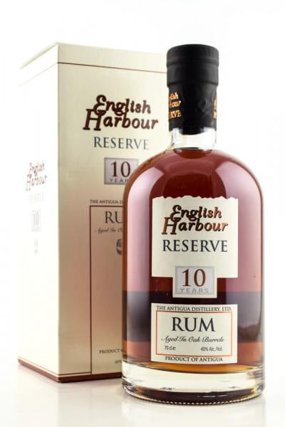 English Harbour Reserve 10 Jahre 40%vol. 0,7l