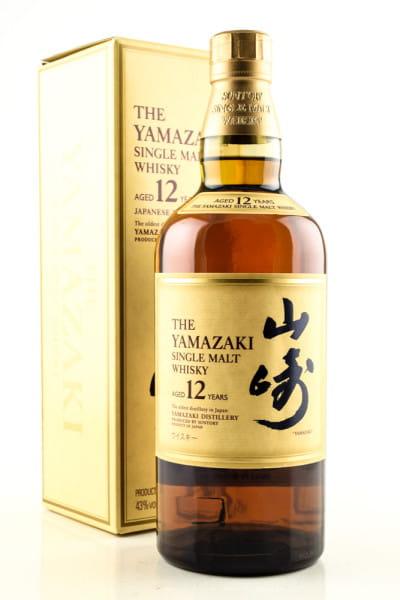 Yamazaki 12 Jahre 43%vol. 0,7l