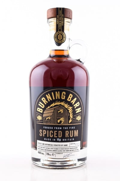 Burning Barn Spiced Rum 40%vol. 0,7l
