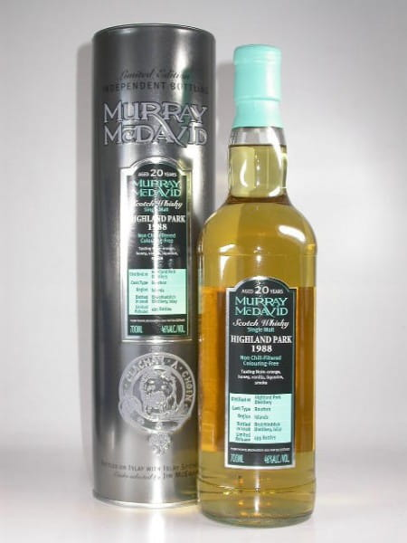 Highland Park 1988/2008 Bourbon Murray McDavid 46%vol. 0,7l