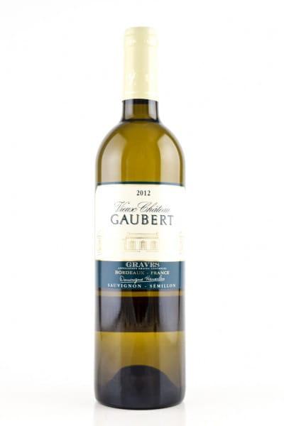Graves 2012 Bordeaux Vieux Chateau Gaubert blanc 12,5%vol. 0,75l