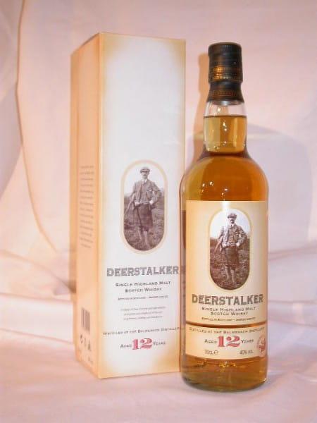 Deerstalker 12 Jahre (Balmenach) 40%vol. 0,7l