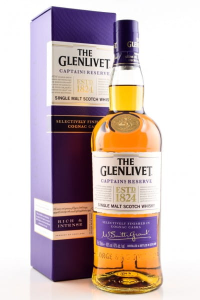 Glenlivet Captain's Reserve 40%vol. 0,7l