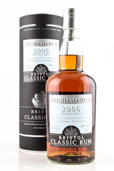 Trinidad 2006/2019 Bristol Classic Rum 59,8%vol. 0,7l