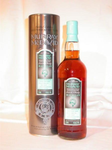 Macallan 1987/2005 Bourbon/Madeira Murray McDavid 46%vol. 0,7l
