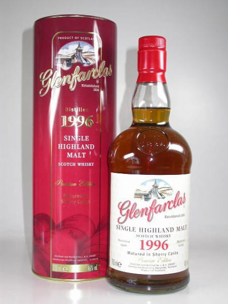 Glenfarclas 1996/2009 Sherry Casks 46%vol. 0,7l