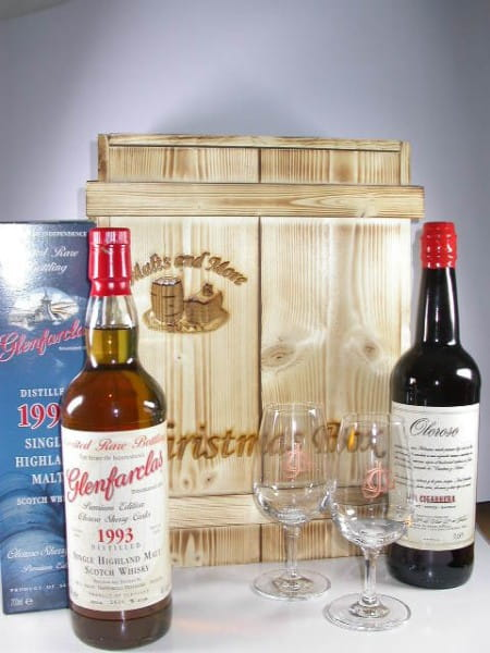 Christmas Box Glenfarclas - The Oloroso Double inkl. Gläser (Branding)