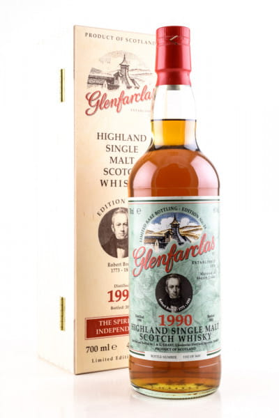 Glenfarclas Ed. No. 24 1990/2020 Robert Brown 46%vol. 0,7l