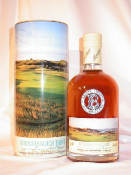 "Bruichladdich Links IV 14 Jahre ""Turnberry 10th"" 46%vol. 0,7l"