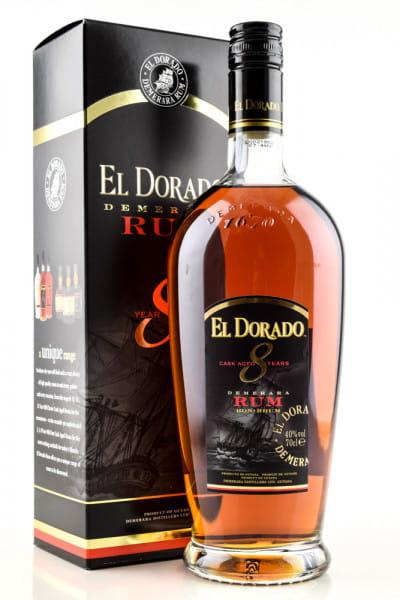 El Dorado 8 Jahre 40%vol. 0,7l
