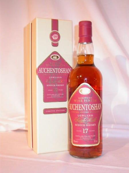 Auchentoshan 17 Jahre Bordeaux Wine Finish 51%vol. 0,7l