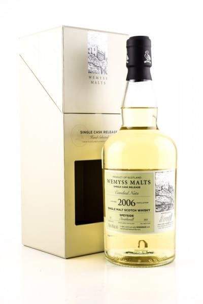 """Candied Nuts"" 12 Jahre 2006 Single Cask Strathmill Wemyss Malts 46%vol. 0,7l"