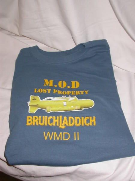 Bruichladdich WMD II T-Shirt Gr. XL