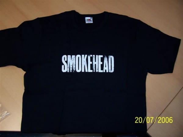 Smokehead T-Shirt Gr. L - Einzelstück -