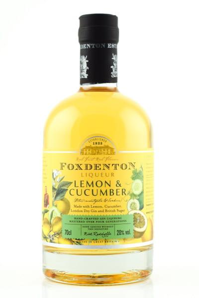 Foxdenton Gin Liqueur Lemon & Cucumber 20%vol. 0,7l