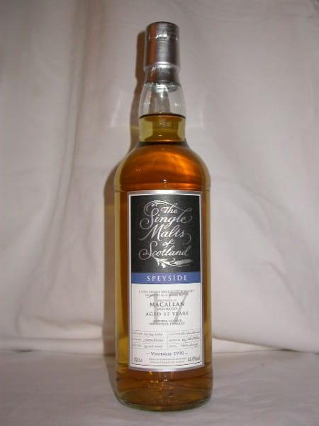 "Macallan 17 Jahre 1990/2007 ""The Single Malts of Scotland"" 46%vol. 0,7l"