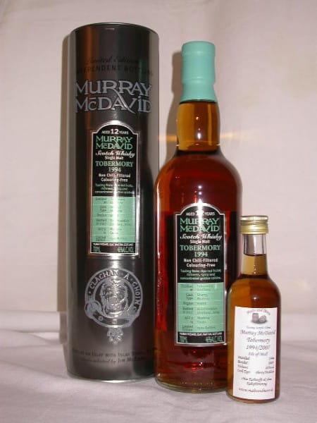 Tobermory 1994/2007 Sherry/Madeira Murray McDavid 46%vol. Sample 0,1l