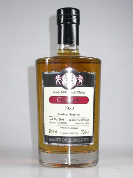 Clynelish 1982/2010 Bourbon Hogshead Malts of Scotland 51,5%vol. 0,7l