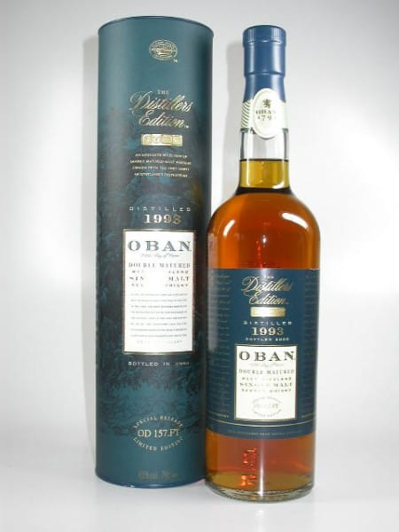 Oban 1993/2008 Distillers Edition 43%vol. 0,7l