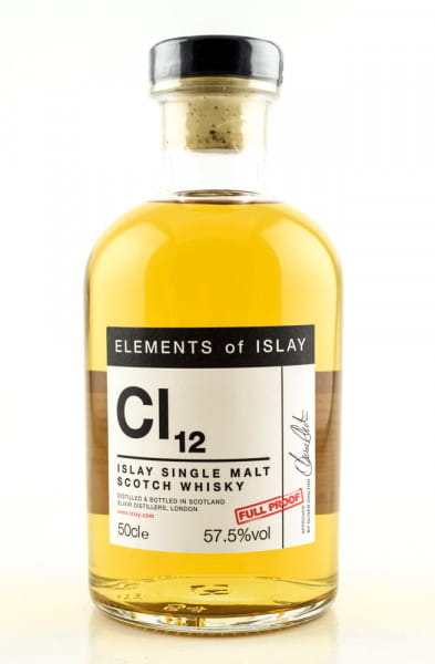 Caol Ila Elements of Islay Cl12 57,5%vol. 0,5l
